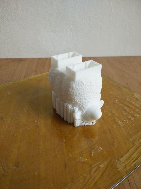 Lego Duplo ovečka po vytištění