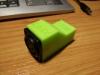 krabička na USB-DMX převodník