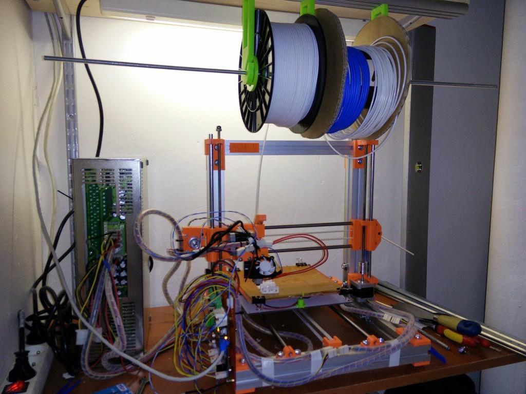 Prostor pro 3D tiskárnu